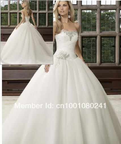 White / ivory Wedding Dresses Bride Dress Gown stock Size 6 8 10 12 14 16-in Wedding Dresses from Apparel & Accessories on Aliexpress.com | Alibaba Group
