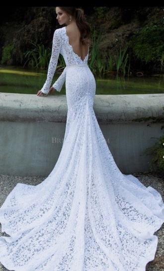 dress wedding dress white lace white lace dress lace wedding dress