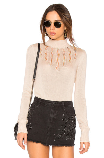 Free People sweater beige