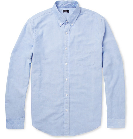 Crew - Button-Down Collar Cotton Oxford Shirt | MR