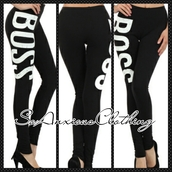 pants,leggings,boss,trill,swag,so anxious clothing,heels,black