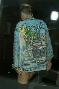 TONY ALAMO BEVERLY HILLS DENIM JACKET SIZE MED- FOR MEN OR WOMEN -