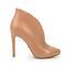 4 inch heels - beige booties