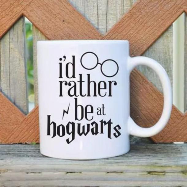 home accessory mug harry potter