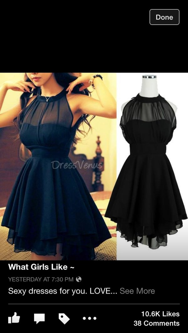 dress little black dress