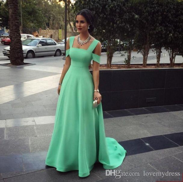 Long Prom Dresses 2016 Off Shoulder Elegant For Women Sexy Evening Gowns Sweep Trian Green Cheap Party Gown Inexpensive Price Good Sell Hobbs Evening Dresses Inexpensive Evening Dresses From Lovemydress, $82.58| Dhgate.Com