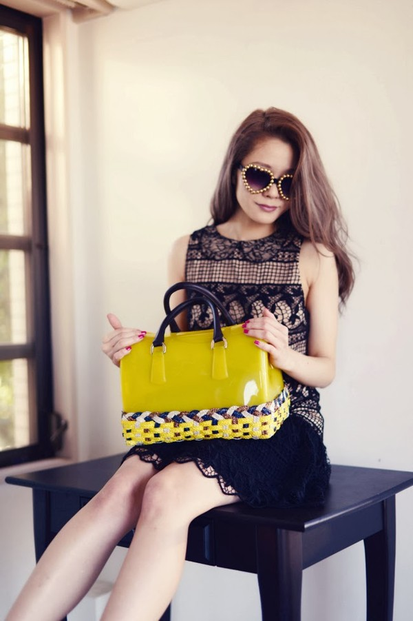 kawaiilabo sunglasses dress bag