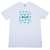 HUF Plantlife Box Logo T Shirt White from HUF