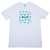 HUF Plantlife Box Logo T Shirt White from HUF