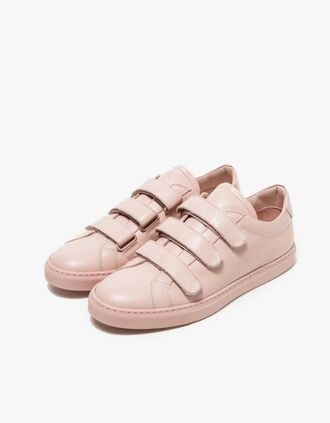 shoes nude sneakers nude sneakers pastel sneakers blush pink pink sneakers college back to school low top sneakers