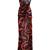 V-Neck Silk Chiffon Gown | Moda Operandi