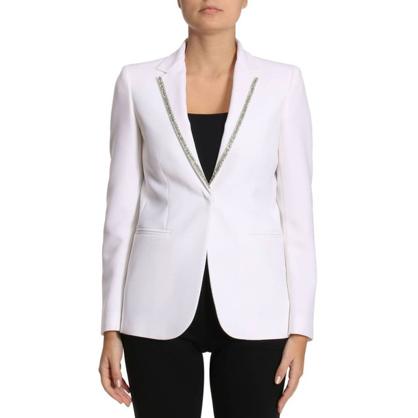blazer women white jacket