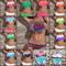 Tassel bikini / fashion and glamour deluxe