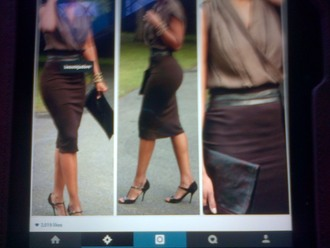 skirt brown skirt pencil skirt