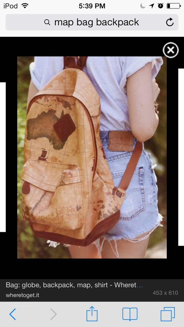 bag map backpack