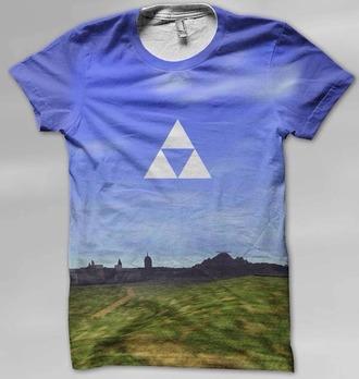 t-shirt nintendo zelda t-shit nintendo 64 gaming