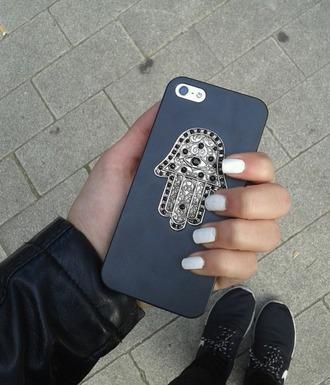 phone case iphone 4 case iphone case khamsa arab phone case hand