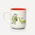 Herbivore Mug by Gemma Correll