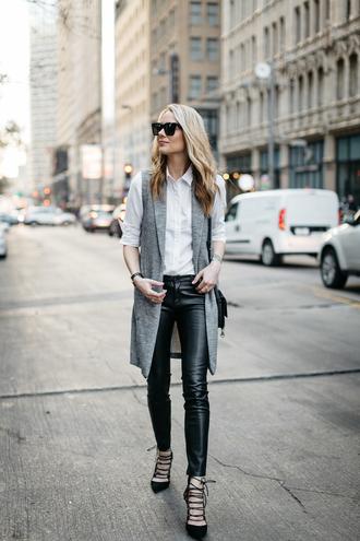 fashionjackson blogger shirt jacket pants shoes bag sunglasses jewels