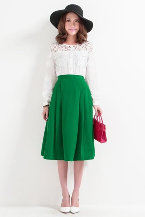 skirt persunmall green skirt green persunmall skirt