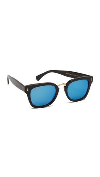 sunglasses blue black
