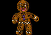 shirt,abstract,art,design,style,illustration,swirly,dbh,gingerbread man,gingerbread,xmas,christmas,brandnew