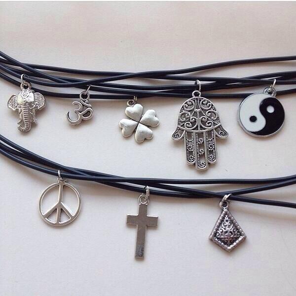 jewels choker necklace charm irish peace necklace choker necklace