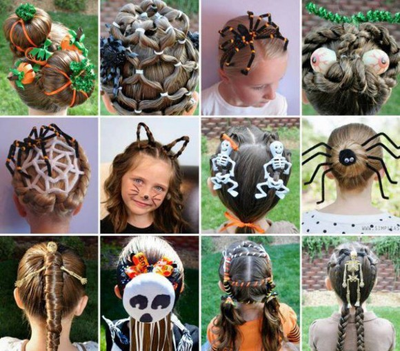 hairstyles hair accessories halloween kids fashion cool cute