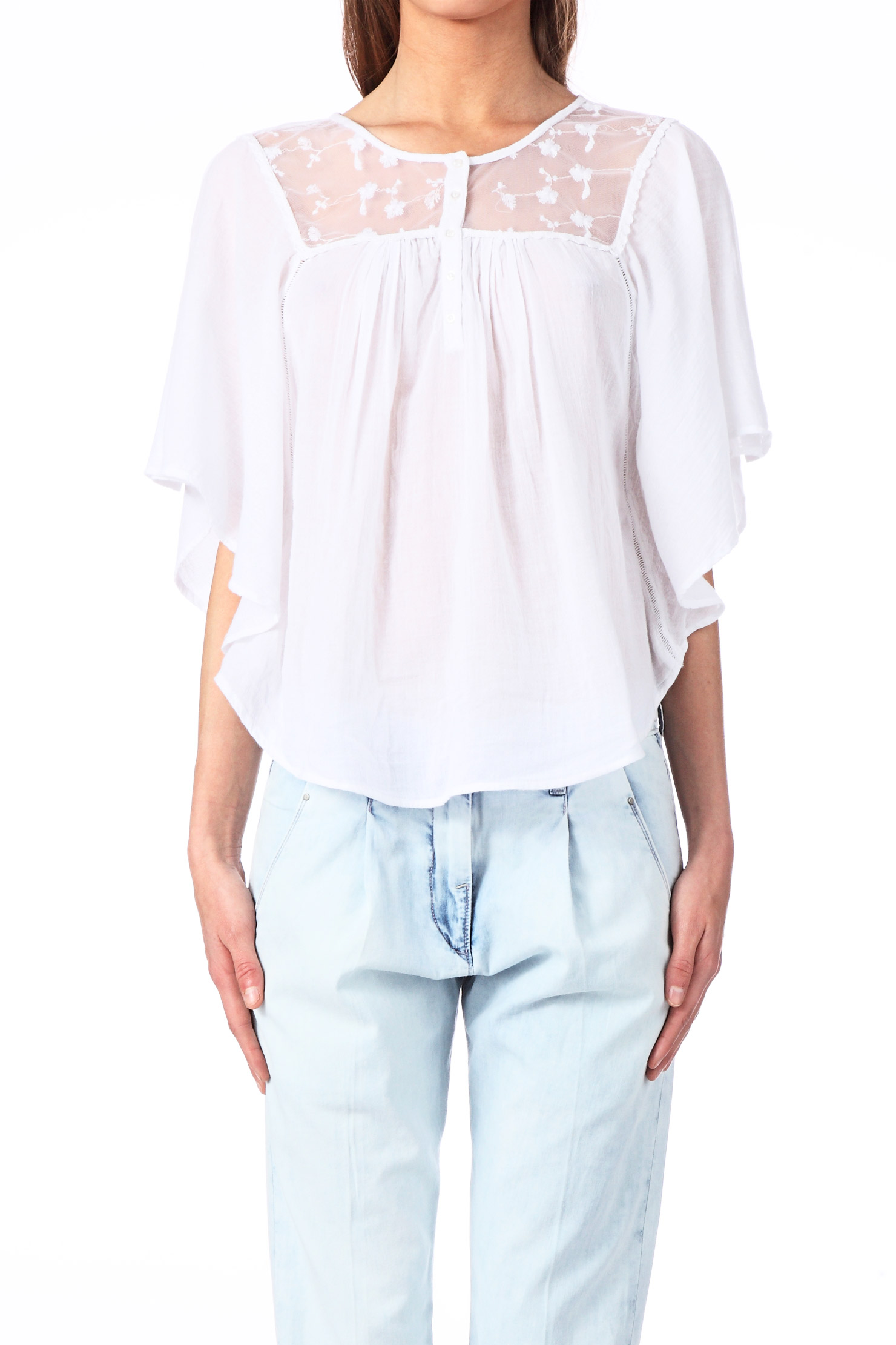 Blouse en coton Mountain