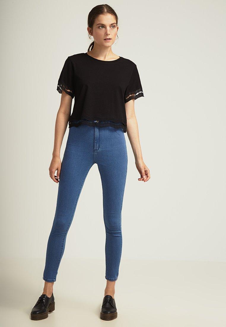 Topshop JONI - Jeans Slim Fit - mid denim - Zalando.ch