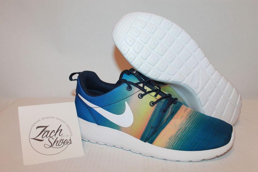 d427ee091598 ... Monica Pack  Nike Rosherun Santa Monica Sunrise Womens Shoes Size 7 Roshe  run (511881-415) ...