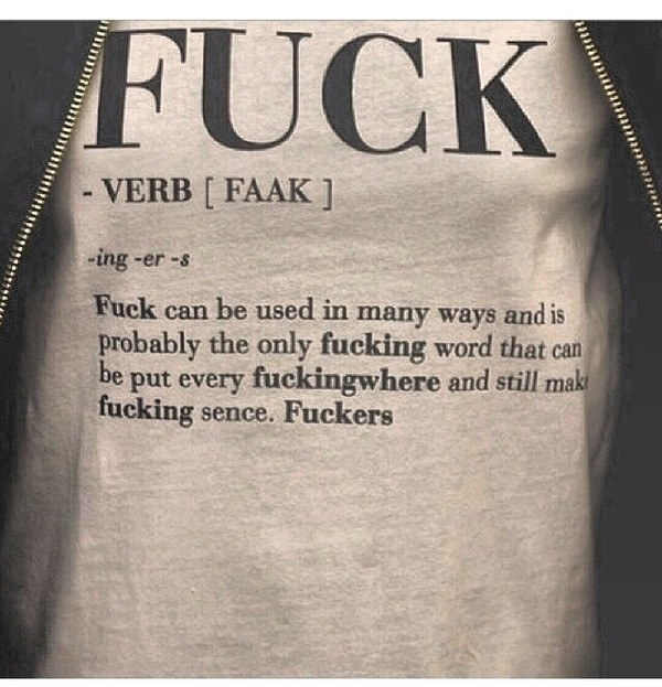 shirt t-shirt top definition fuck definition fuck off