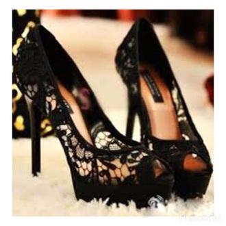 shoes lace black heels lace heels black heels open toes