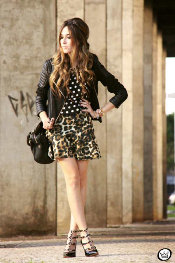 fashion coolture top skirt jacket bag shoes