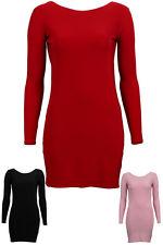 New Womens Backless Ladies Scoop Back Stretch Short Bodycon Mini Dress Size 8 12   eBay