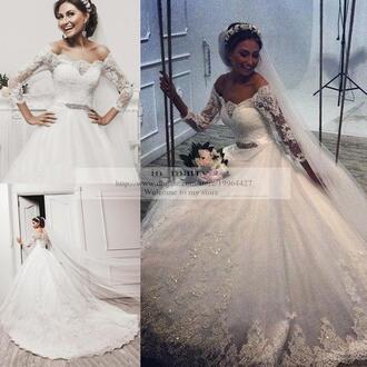dress long sleeve wedding dress a line wedding dresses vintage lace wedding dresses 2016 wedding dresses princess wedding dresses