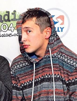 sweater tyler joseph hoodie patterned sweater mens hoodie