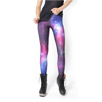 Galaxy Leggings- (Size S) on Wanelo
