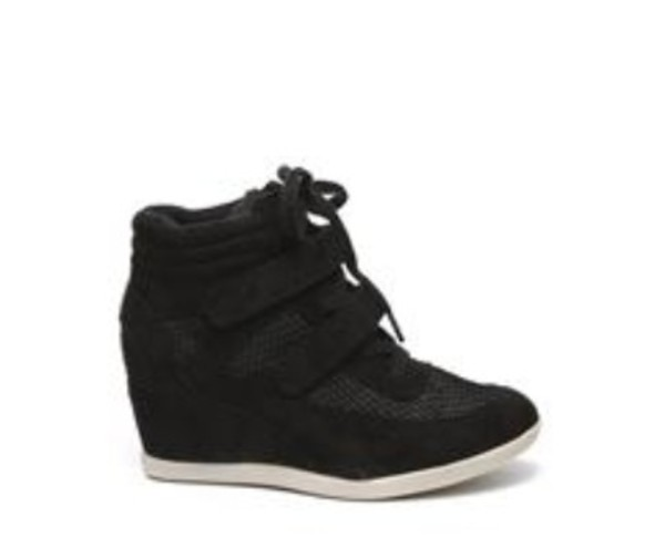 shoes wegdes wedge sneakers balck