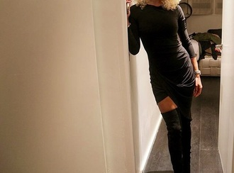 dress black dress shoes high black boots