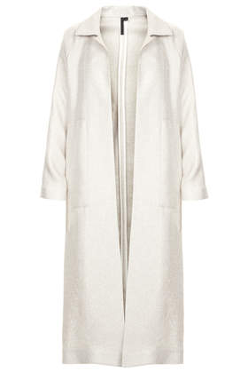 Long Weave Coat by Boutique - New In This Week - New In - Topshop USA