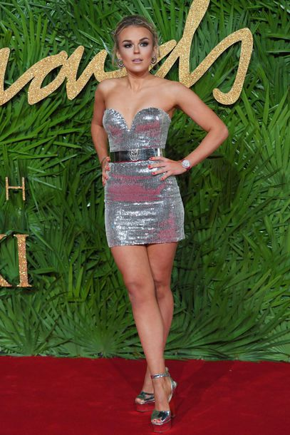 dress tallia storm silver metallic silver shoes mini dress