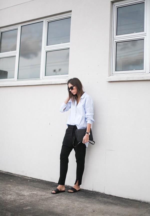 modern legacy shirt pants shoes bag sunglasses jewels