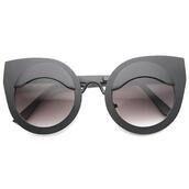 sunglasses,cat eye,matte black,matte black sunglasses