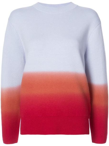 Proenza Schouler sweater women spandex wool red