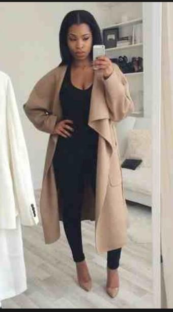 jacket black girls killin it coat