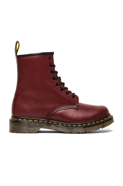 Dr. Martens boot red shoes