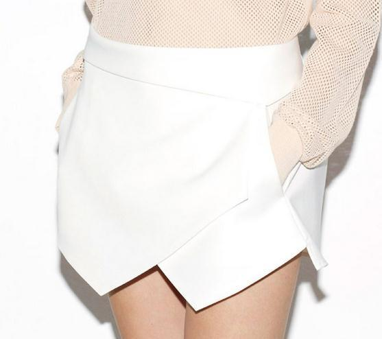 Irregular skirt bigger sizes they show thin skirts cultivate one's morality 8908