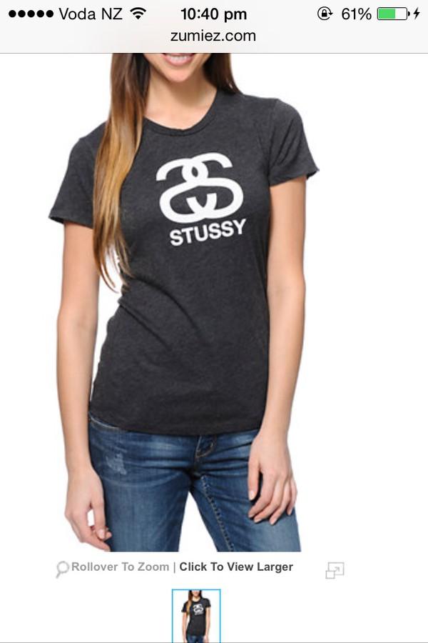 t-shirt stussy cute desinger