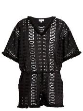embroidered,cotton,black,romper